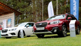 Презентация новых Subaru Outback и Legacy: для влюбленных и влюбившихся