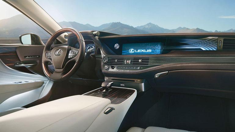 салон Lexus LS 350 2019
