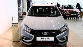 Новая LADA Vesta Sport: с претензией на спорткар