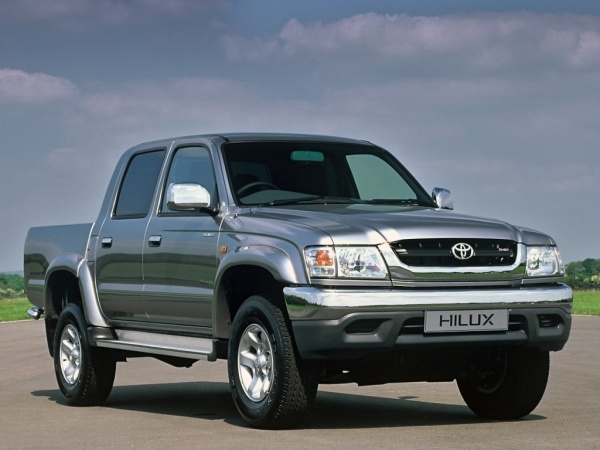 Toyota Hilux Double Cab фото