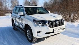 Тест-драйв нового Toyota Land Cruiser Prado: едет там, где другие боятся